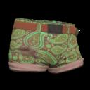 Aqua Paisley Shorts.png
