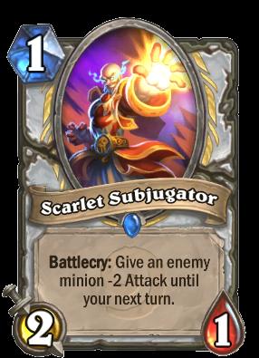 Scarlet Subjugator