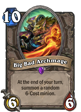 Big Bad Archmage - Hearthstone Wiki