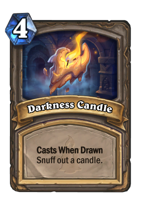 darkness candle