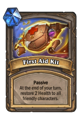 Passive ability First Aid Kit