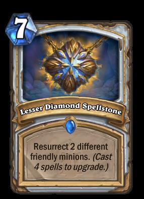 Lesser Diamond Spellstone - Hearthstone Wiki