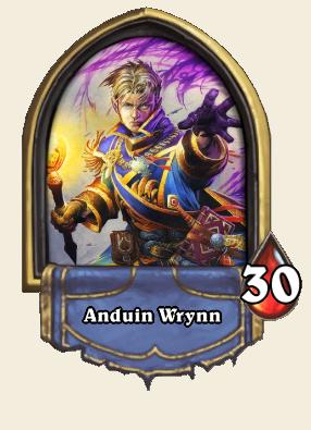 Anduin Wrynn Hearthstone Wiki