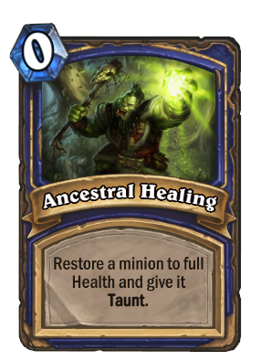 Ancestral Recall Hearthstone