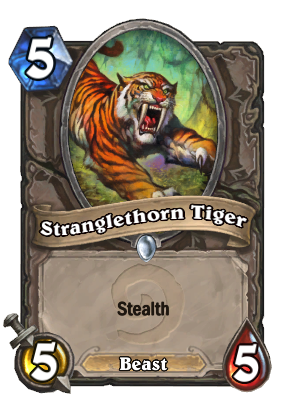 Stranglethorn Tiger - Hearthstone Wiki