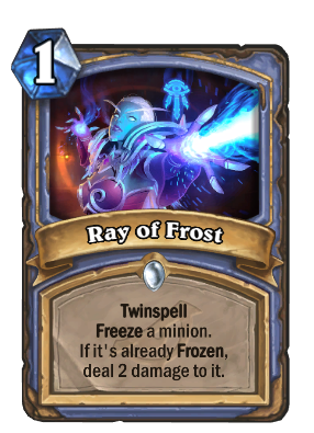 Ray of Frost - Hearthstone Wiki