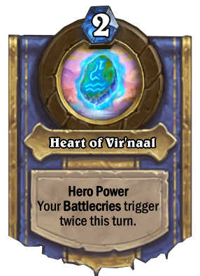Heart of Vir'naal - Hearthstone Wiki