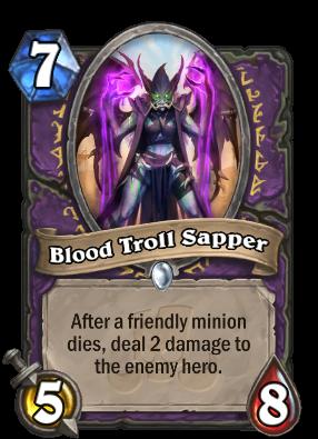 Blood Troll Sapper Hearthstone Wiki