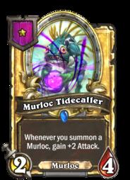 Murloc Tidecaller (Battlegrounds, golden).png