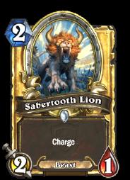 Sabertooth Lion(22445) Gold.png