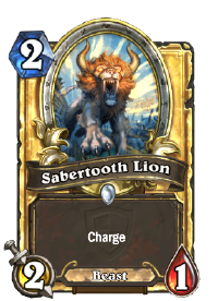 Sabertooth Lion(22445) Gold.png