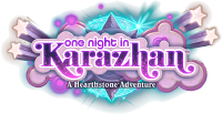 One Night in Karazhan logo full2.png