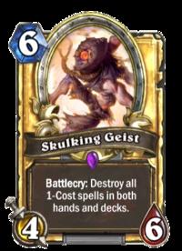 Skulking Geist(62883) Gold.png