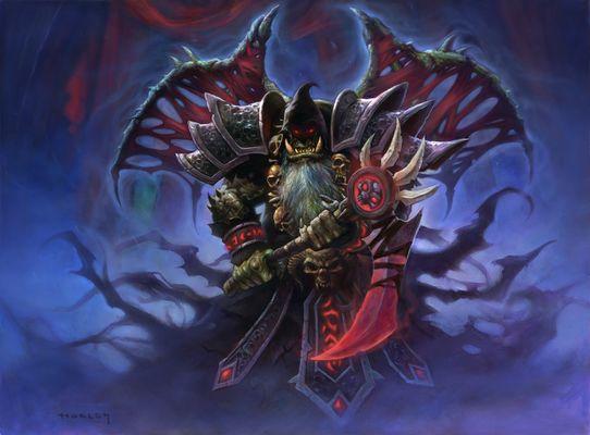 Bloodreaver Gul'dan - Hearthstone Wiki