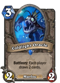 Coldlight Oracle Hearthstone Wiki