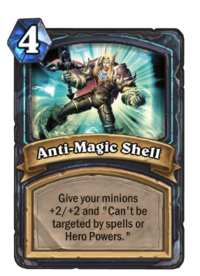 Anti-Magic Shell - Hearthstone Wiki
