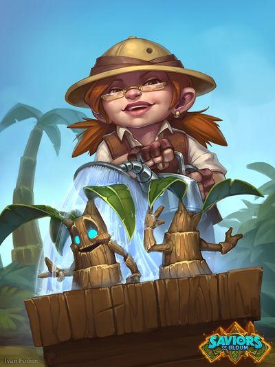 Garden Gnome - Hearthstone Wiki