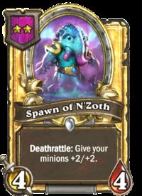 Spawn of N'Zoth (Battlegrounds, golden).png