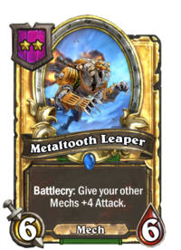Metaltooth Leaper (Battlegrounds, golden).png