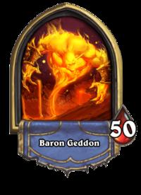 Baron Geddon (boss) - Hearthstone Wiki