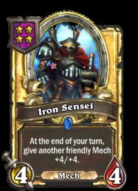 Iron Sensei (Battlegrounds, golden).png