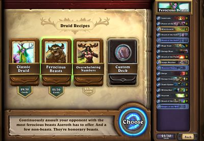 Deck Recipe - Hearthstone Wiki
