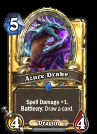 Azure Drake280 Gold Png