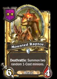 Mounted Raptor (Battlegrounds, golden).png