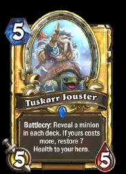 Tuskarr Jouster(22315) Gold.png