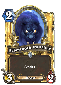 Sabertooth Panther(22446) Gold.png