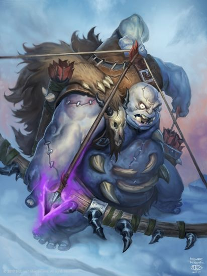 Abominable Bowman Hearthstone Wiki