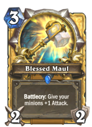 Blessed Maul(76890) Gold.png
