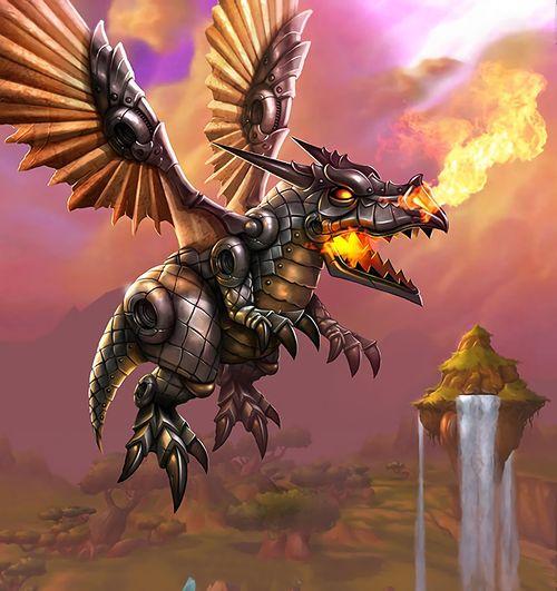 Mechanical Dragonling Hearthstone Wiki