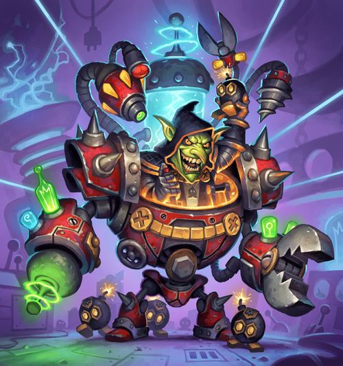 Dr  Boom, Mad Genius - Hearthstone Wiki