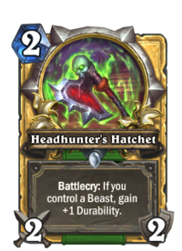 Headhunter's Hatchet(90281) Gold.png