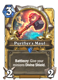 Purifier's Maul(76887) Gold.png
