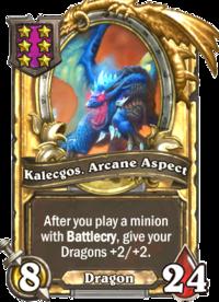 Kalecgos, Arcane Aspect (golden).png