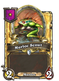 Murloc Scout (Battlegrounds, golden).png