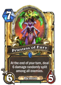 Priestess of Fury - Hearthstone Wiki