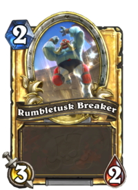 Rumbletusk Breaker(90310) Gold.png