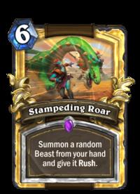 Stampeding Roar(90221) Gold.png