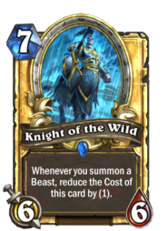Knight of the Wild(22360) Gold.png