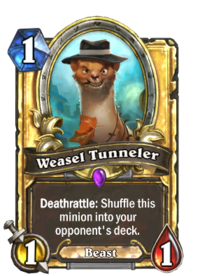 Weasel Tunneler(49758) Gold.png