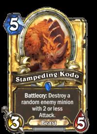 Stampeding Kodo(389) Gold.png