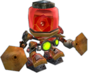 An alarm-o-bot from World of Warcraft