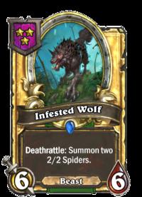 Infested Wolf (Battlegrounds, golden).png