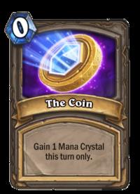 Kết quả hình ảnh cho the coin hearthstone