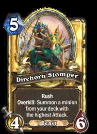 Direhorn Stomper(90337) Gold.png