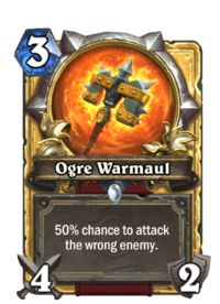 Ogre Warmaul(12211) Gold.png
