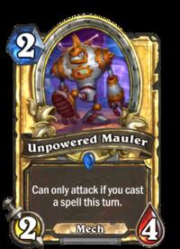 Unpowered Mauler(89922) Gold.png